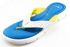 Nike Size 6.5 M Yellow Flip Flop Synthetic Women Sandal Shoes