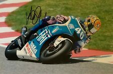 VALENTINO ROSSI HAND SIGNED YAMAHA 15X10 PHOTO MOTOGP AUTOGRAPH PROOF B.