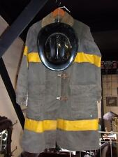 VINTAGE FIRE MANS JACKET AND HAT-SELLING OUT MAKE OFFER