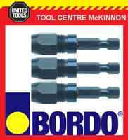 BORDO 25mm AUGER BIT AND EXTENSION KIT IN CASE 1.7m REACH