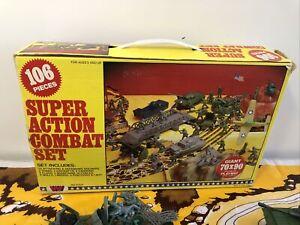 Vintage Army Super Action Combat Set 1980s