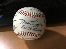 Beautiful 1950's/60's Boston Red Sox Stadium Facsimile Signed Baseball