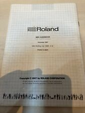 More details for roland midi guidebook 4th ed 1989
