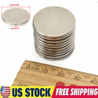 Lot 5-50pcs Super Strong 25mm x 2mm N35 Round Disc Rare Earth Neodymium Magnets