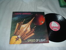 SOUND BARRIER Speed Of Light '86 LP RARE power metal ORIG US PROMO press NMint