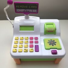 Cash Register Till Pretend Shop Toy With Chip and Pin Feature Supermarket