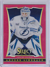 2013-14 Panini Black Friday Select Prizms Red #138 Anders Lindback 07/35