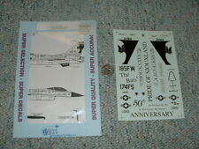 Superscale decals 1/32 32-140 F-16C Wing Co 174th FS 185th FW  G63