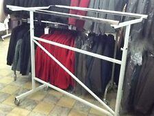 Kleiderständer Kleiderstange Ständer Doppelständer Textilständer 2 Stangen