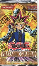 Yu-Gi-Oh 1st edition Pharaonic Guardian 2 packs from a fresh box