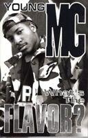 Young MC Whats The Flavor 1993 Cassette Tape Album Hiphop Rap