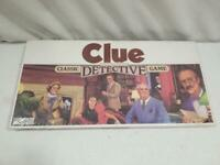 Vintage Original 1986 Clue Detective Board Game Factory Sealed  FREE USA SHIP