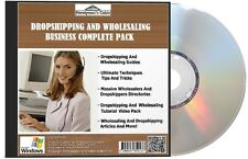 Dropshipping And Wholesaling Business Complete Pack - Videos, Guides, Lists DVD