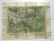 Carte de France au 50.000e - PERTUIS -Service géographique de l'Armée -Type 1922
