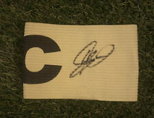 More details for graeme shinnie- hand signed captains armband aberdeen derby **coa**