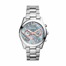 Fossil Analog Casual Watch BOYFRIEND Silver Ladies ES3880