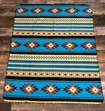 "Southwest Design Navajo Print Fleece Throw Blanket 50"" x 60"""