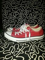 Converse CHUCK TAYLOR All Star Low Top Unisex Canvas Shoes Sneakers pre owned