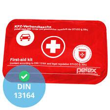 KFZ Verbandskasten Auto Verbandstasche Fahrzeug Verbandtasche DIN 13164 ROT