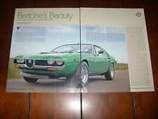 1972 ALFA ROMEO MONTREAL - ORIGINAL 2006 ARTICLE