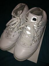 *USED* Jordan Melo 5 Size 9.5 White Style 311813-101 GOOD CONDITION Shoes