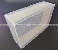 2pcs Clear Honey Lattice Produce Box Bee Hive Honey Box Beekeeping Tool 250g