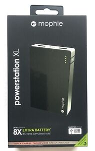 mophie powerstation XL 12,000mAh Premium Powerbank for USB (Apple-certified) NEW