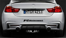 Racing Motorsport Sport Vinyl Decal sticker car bumper logo auto emblem