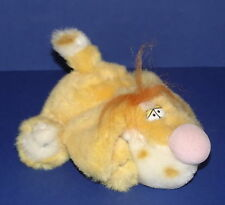 "BARNEY AND FRIENDS * Barney The Dog Soft Toy * 1989 * 18cm (7"") Tall *"
