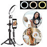 Selfie LED Ring Light Stand Kit Phone Camera Photo Video Microphone Photography