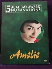 Amelie Dvd 2001 Starring Audrey Tautou Wide Screen Very Good Used Condition.