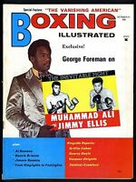 BOXING ILLUSTRATED MAGAZINE OCTOBER 1971 GEORGE FOREMAN