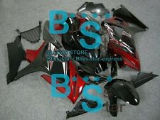 Black Red GSXR1000 Fairing Kit Fit Suzuki GSX-R1000 2007-2008 016 A1