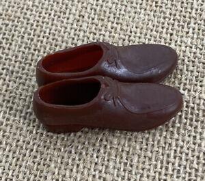 Vintage Barbie: KEN #797 Army and Air Force ~ Brown Japan Shoes