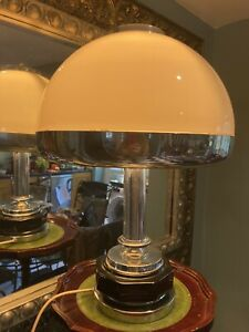 Stunning Large Vintage Art Deco Style Lamp