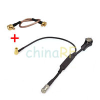 DAB Antenna Amplified ISO-ISO Aerial Splitter Adapter Car Radio Active+MCX cable