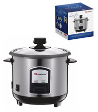 Stainless Steel Non Stick 0.8L Automatic Electric Rice Cooker Pot Warmer 350W