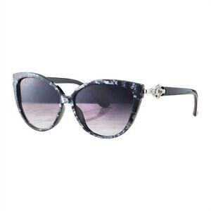 "Avon ""Ezrela"" Sunglasses with Swarovski Crystals ~Grey marble effect frame"
