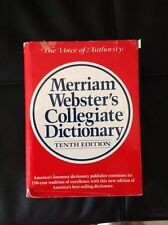 Merriam-Webster's Collegiate Dictionary : Thumb-Indexed by Inc. Staff Merriam-We