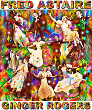 FRED ASTAIRE & GINGER ROGERS TRIBUTE T-SHIRT OR PRINT BY ED SEEMAN