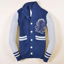 Humör Herren Pullover Sweater Strick Gr.S Kologo Blau, 39547