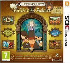 IL PROFESSOR LAYTON E L'EREDITA DEGLI ASLANT 3DS 2DS NINTENDO NUOVO ITALIANO