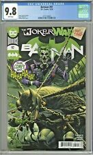 Batman #97 CGC 9.8 1st First Print Edition Guillem March Joker War Part Three 3