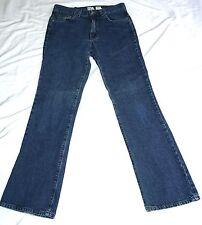 Calvin klein jeans womens juniors size 5 Jr Flare blue denim 5 pockets pants