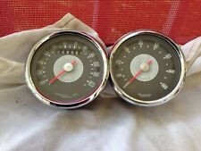 1964-1972 Norton N15 /  Matchless G15 / Metisse 120 MPH speedometer & tachometer