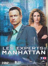 COFFRET 3 DVD 12 ÉPISODES LES EXPERTS MANHATTAN SAISON 2 PARTIE 2 GARY SINISE