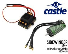 CASTLE CREATIONS SIDEWINDER 8th 1:8 Brushless Car Package (2200kV) CSE010013901