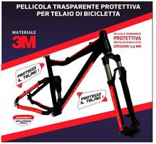 BICYCLE SHIELD PROTECTIVE 3M TAPE TRANSPARANT ADHESIVE FILME MADE IN ITALY