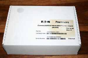 Eaton Powerware Connect UPS-X Web/ SNMP/Xhub Card (ROHS) 116750221-001