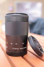 Canon EF-M 55-200 mm 1:4,5-6,3 IS STM Objektiv (52mm Filtergewinde) für EOS-M